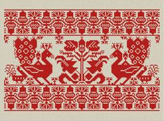 hungarian cross stitch. this whole site is amazing.