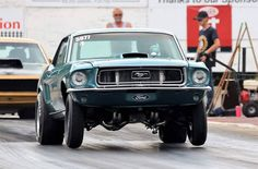 Ford Mustang 68 Ford Mustang, Bob Smith, Will Smith, Race Cars, Racing, Classic, Instagram Posts, Drag Race Cars, Running