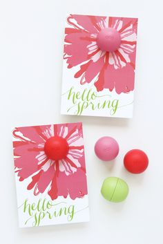 Hello Spring EOS Lip Balm Printable by Paging Supermom. Perfect for Teachers and Friends! -- Tatertots and Jello