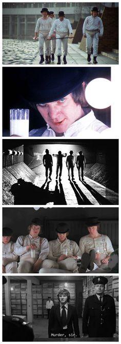 La naranja mecánica - A Clockwork Orange - Stanley Kubrick - Malcolm McDowell - Alex DeLarge