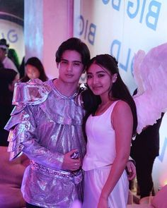 James Reid and Nadine Lustre Nadine Lustre Instagram, Romeo And Juliet Costumes, Baz Luhrmann, Filipina Beauty, James Reid, Jadine, Bullet Journal Ideas Pages, Mom And Dad, Beautiful Pictures