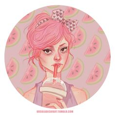 maaaan now i want a friggen smoothie inspired by the beautiful Kailey ^ u ^…