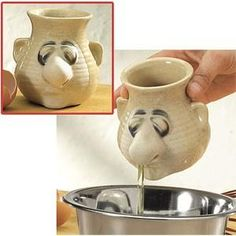 The next cool gadget for your kitchen is the Peter Petrie Egg Separator. - BWAHAHAHA! SO FUNNY!