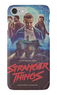 Buy this geeky Stranger Things i-Phone case #i-phone #case #merchandise [affiliate-link]