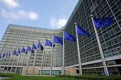 Photo about European flags in front of the European Commission Berlaymont building in Brussels, Belgium. Image of gray, building, silver - 9050410 European Flags, Union Européenne, Data Protection, Air France, Renewable Energy, Netherlands, Britain, Skyscraper, Greece
