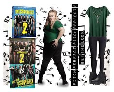 """""""Life's A Pitch"""" by bee4735 on Polyvore featuring Music Notes, H&M, Steve Madden and pitchperfect2"""
