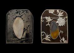By Bettina Speckner. 2000.Ferrotype, silver, agate.