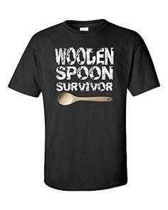 Wooden Spoon Survivor - Ultracotton T-shirt Black L