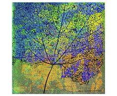 Принт на холсте Cottonwood Leaf II