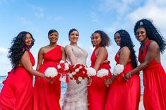 Wearing red is how we welcome December ❤️❤️❤️ #LiveLoveandRemember #DestinationWedding #Love
