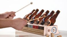 Musical Beer Packaging ~ http://steamykitchen.com