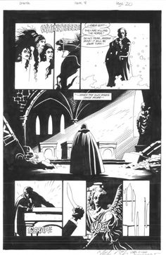 Mike Mignola: Dracula issue 4 page 20 Comic Art