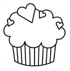 Its a known fact that children love eating cupcakes. Now involve your child's love for cupcakes with these 20 fabulous free printable cupcake coloring pages Cupcake Coloring Pages, Mom Coloring Pages, Free Coloring, String Art Patterns, Stencil Patterns, Embroidery Patterns, Template Cupcake, Templates Printable Free, Printables