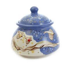 $20.00 - Special Price - Scenes from Nature Sugar Bowl from the ceramic workshop of St. Elisabeth Convent - Visit our website: http://catalog.obitel-minsk.com/   #CatalogOfGoodDeeds #teapot #pottery #ceramic #handmade #purchase #order #customize #flowers #deliver #worldwide #shipping #cup #plate #sugar bowl #unique #glaze #mugs #unique #tea set #handpainted #purchase #buy #gift #souvenir #present #online #crafts #tea #overglaze #quality