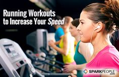 Run faster with these speed training workout plans! | via @SparkPeople #fitness #exercise #running