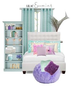 """""""dream room"""" by janiyahhoward ❤ liked on Polyvore featuring interior, interiors, interior design, home, home decor, interior decorating, Lucca Couture, Ballard Designs, Unison and L.L.Bean"""