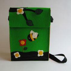 Cool handmade bag!