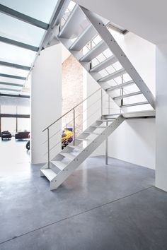 Stairs design aluminium - Graah Concorde
