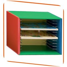 Melissa & Doug Deluxe Painted Wooden Puzzle Storage Case