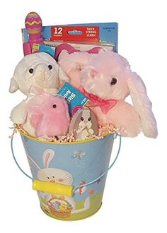 Easter disney frozen gift basket chick private label httpwww easter gift basket pink private label httpamazon negle Images