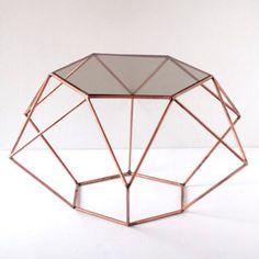 Muebles : Mesa Auxiliar diamante by Diamantina&LaPerla
