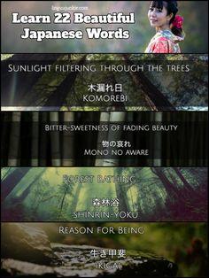 Learn #japanese beautiful words http://www.linguajunkie.com/japanese/beautiful-japanese-words