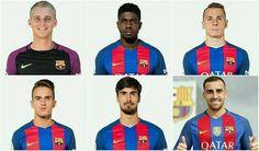 Seis fichajes. Cinco jugadores no superan los 23 años. Reforzaron cada línea. 122.75 M. Soberbio mercado del Barça.