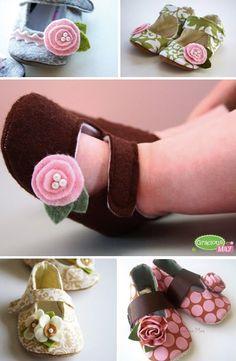 Descubriendo Etsy: Zapatos para bebés muy presumidas