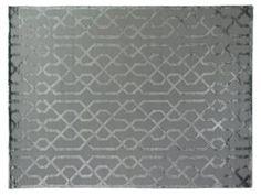 9'x12' Metro Velvet Rug, Gray