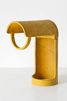 Ricky Swallow / tube lamp study/yellow, 2011