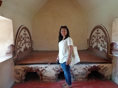 Taman Sari. Inside Sultan's bed room