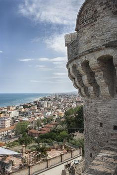 Visit Grottammare - View of Grottammare from old town centre