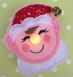 What could be more festive than embroidery with lights? Here are 10 machine embroidery projects that include lights + a quick tutorial on stitching your own designs!