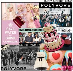 """♥♥♥ Happy 6th Bday Polyvore ♥♥♥"" by karineminzonwilson ❤ liked on Polyvore"