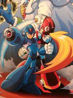 Megaman X & Zero