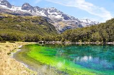 Blue Lake in the Nelson Lakes National Park has some of the clearest water in the world, a study has found. New Zealand here we come!