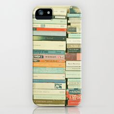 Bookworm iPhone Case by Cassia Beck - $35.00