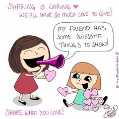 Sharing is Caring! I want to share the links of my friends during the month of November as much as possible. You are soo awesome!