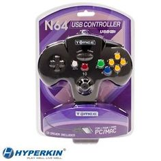 N64 USB Tomee Controller-Compatible with Mac and PC