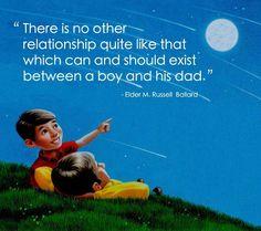 """""""Ik ben zo blij dat ik een goede relatie heb met mijn vader."""" Wil jij dat ook? De Wildeman verbindt! www.de-wildeman.com"""