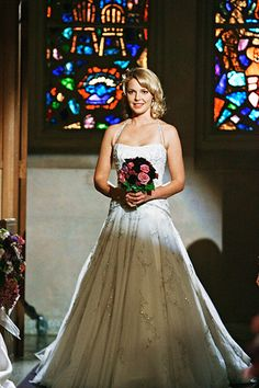 Katherine Heigl on Grey's Anatomy #celebrity #bride