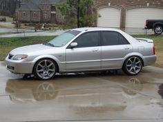 2003 Mazda Protege. First Real Job car. Ha!