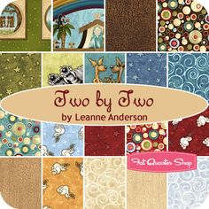 Sweet Potato Quilt Option 1: Two by Two