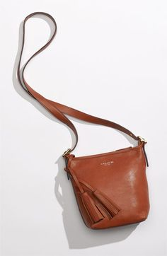 Perfect cross-body bag!  COACH 'Legacy - Mini' Leather Shoulder Bag