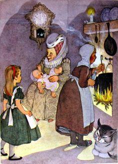 Marjorie Torrey Illustrator of Alice in Wonderland  March House Books Blog: I can't go back to yesterday... Alice in Wonderland