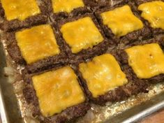 Cookie Sheet Sliders This is an easy way to make sliders for a large group. We made them for the Super Bowl and they were a huge hit!This is an easy way to make sliders for a large group. We made them for the Super Bowl and they were a huge hit! Cooking For A Crowd, Food For A Crowd, Meals For A Crowd, Cheeseburger Sliders, Mini Hamburger Sliders, Mini Sliders, Planning Budget, Meal Planning, Slider Recipes