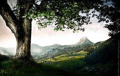 Austrian Destination Damüls- Photo Art, Mountains, Nature, Travel, Naturaleza, Viajes, Destinations, Traveling, Trips