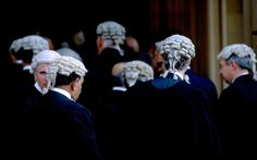 Barristers - the wigs are so cool!