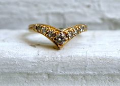 Yellow Gold Diamond Wedding Band.