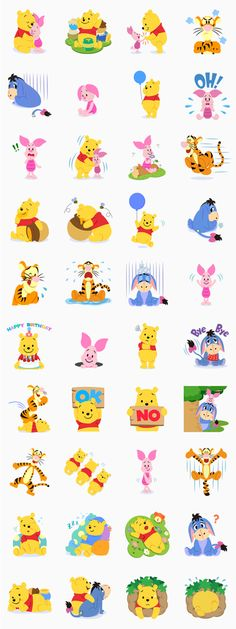 Winnie the Pooh - Stickers oficiales